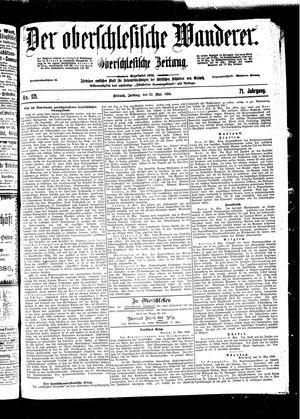 ˜Derœ Oberschlesische Wanderer vom 27.05.1898