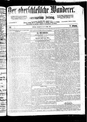 ˜Derœ Oberschlesische Wanderer vom 28.05.1898