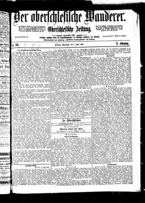 ˜Derœ Oberschlesische Wanderer vom 01.06.1898