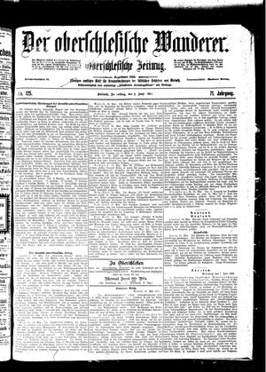 ˜Derœ Oberschlesische Wanderer vom 02.06.1898