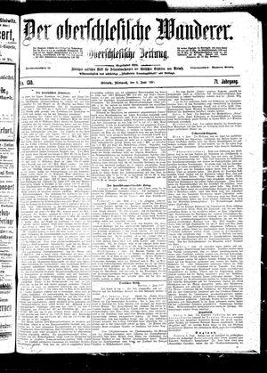 ˜Derœ Oberschlesische Wanderer vom 08.06.1898