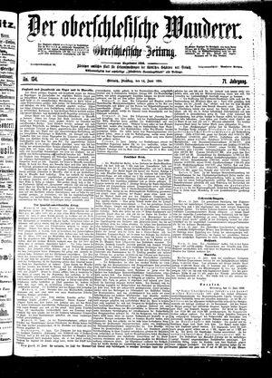 ˜Derœ Oberschlesische Wanderer vom 14.06.1898