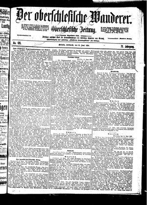 ˜Derœ Oberschlesische Wanderer vom 15.06.1898