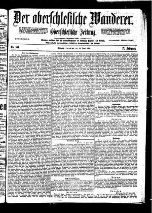 ˜Derœ Oberschlesische Wanderer vom 18.06.1898