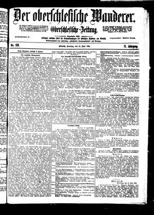 ˜Derœ Oberschlesische Wanderer vom 19.06.1898
