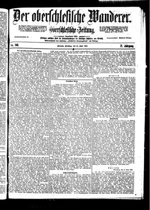 ˜Derœ Oberschlesische Wanderer vom 21.06.1898