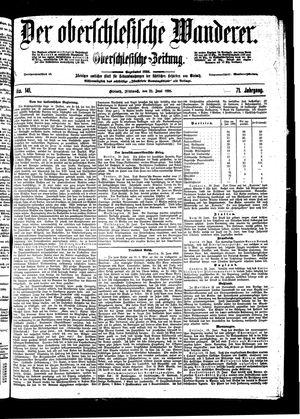 ˜Derœ Oberschlesische Wanderer vom 22.06.1898