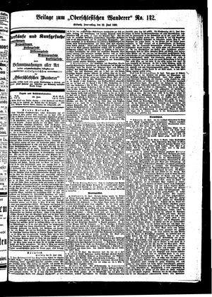 ˜Derœ Oberschlesische Wanderer vom 23.06.1898