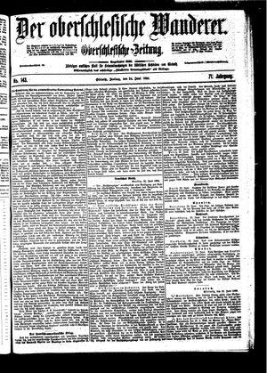 ˜Derœ Oberschlesische Wanderer vom 24.06.1898