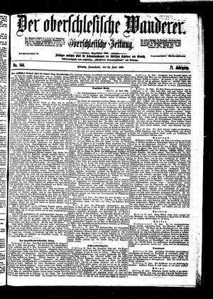 ˜Derœ Oberschlesische Wanderer vom 25.06.1898