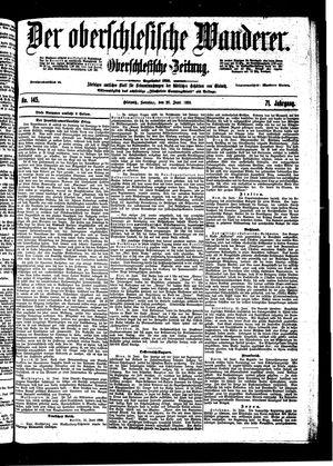 ˜Derœ Oberschlesische Wanderer vom 26.06.1898