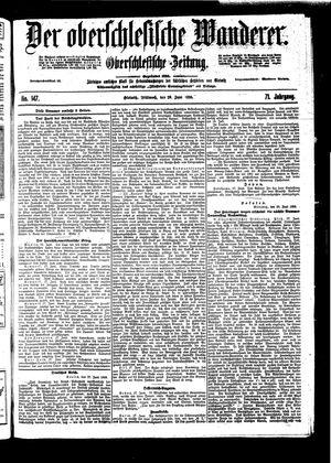 ˜Derœ Oberschlesische Wanderer vom 29.06.1898