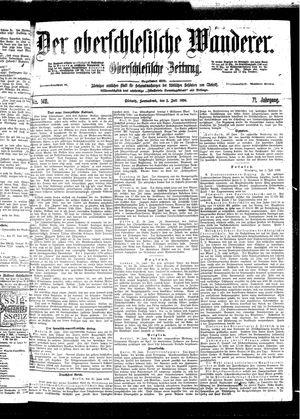 ˜Derœ Oberschlesische Wanderer vom 02.07.1898