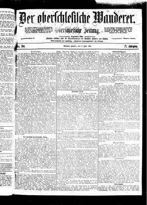˜Derœ Oberschlesische Wanderer vom 08.07.1898