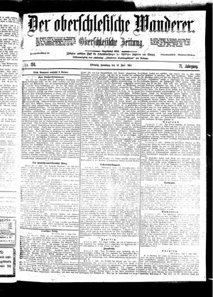 ˜Derœ Oberschlesische Wanderer vom 10.07.1898