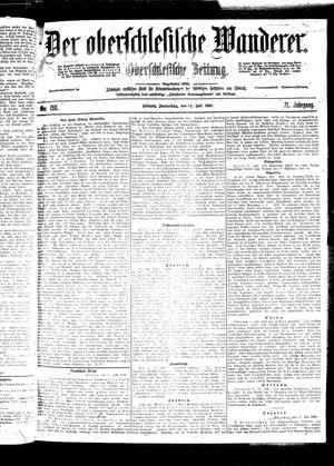 ˜Derœ Oberschlesische Wanderer vom 14.07.1898