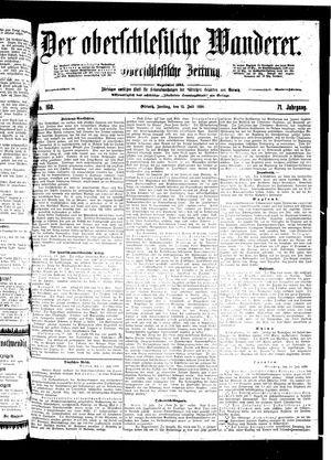 ˜Derœ Oberschlesische Wanderer vom 15.07.1898