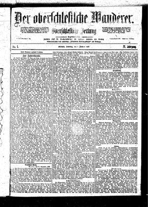 ˜Derœ Oberschlesische Wanderer vom 01.01.1899