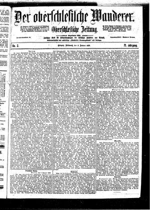 ˜Derœ Oberschlesische Wanderer vom 04.01.1899