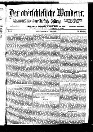 ˜Derœ Oberschlesische Wanderer vom 05.01.1899