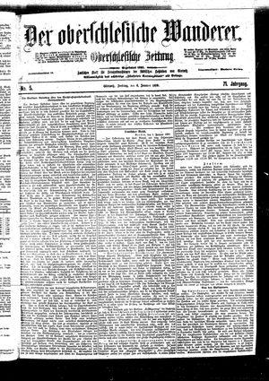 ˜Derœ Oberschlesische Wanderer vom 06.01.1899