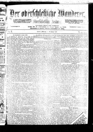 ˜Derœ Oberschlesische Wanderer vom 10.01.1899