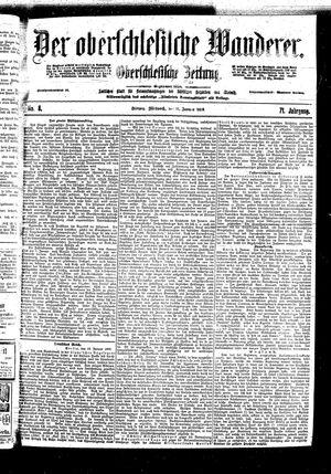 ˜Derœ Oberschlesische Wanderer vom 11.01.1899