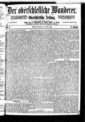 ˜Derœ Oberschlesische Wanderer vom 12.01.1899