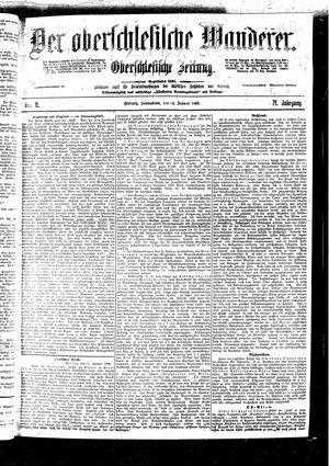 ˜Derœ Oberschlesische Wanderer vom 14.01.1899