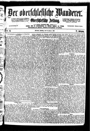 ˜Derœ Oberschlesische Wanderer vom 17.01.1899