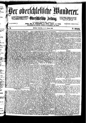 ˜Derœ Oberschlesische Wanderer vom 19.01.1899