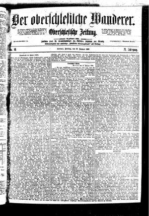 ˜Derœ Oberschlesische Wanderer vom 20.01.1899