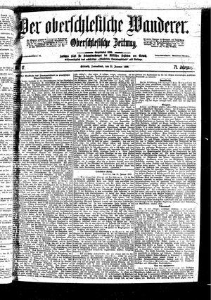 ˜Derœ Oberschlesische Wanderer vom 21.01.1899