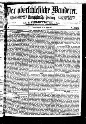 ˜Derœ Oberschlesische Wanderer vom 22.01.1899