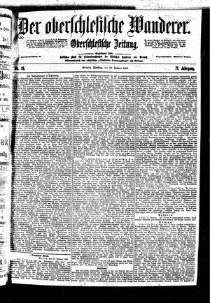 ˜Derœ Oberschlesische Wanderer vom 24.01.1899