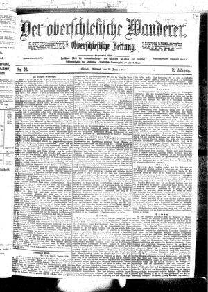 ˜Derœ Oberschlesische Wanderer vom 25.01.1899
