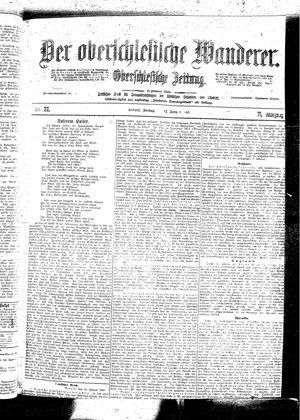 ˜Derœ Oberschlesische Wanderer vom 27.01.1899