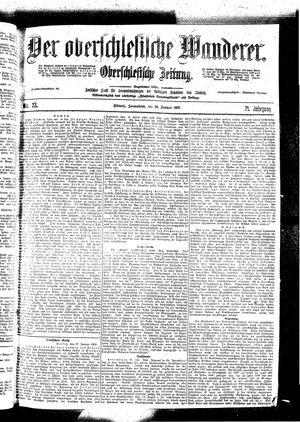 ˜Derœ Oberschlesische Wanderer vom 28.01.1899