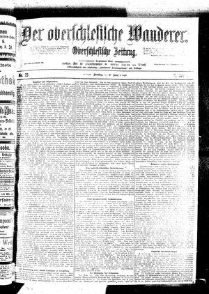 ˜Derœ Oberschlesische Wanderer vom 31.01.1899