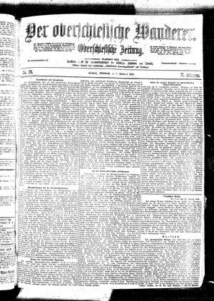 ˜Derœ Oberschlesische Wanderer vom 01.02.1899