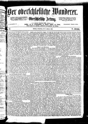 ˜Derœ Oberschlesische Wanderer vom 02.02.1899