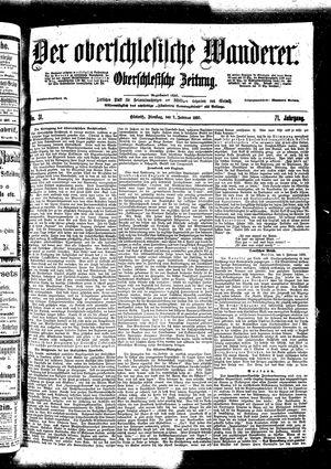 ˜Derœ Oberschlesische Wanderer vom 07.02.1899