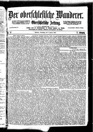 ˜Derœ Oberschlesische Wanderer vom 09.02.1899