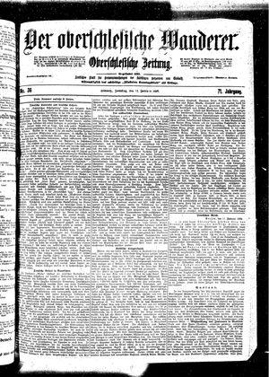 ˜Derœ Oberschlesische Wanderer vom 12.02.1899