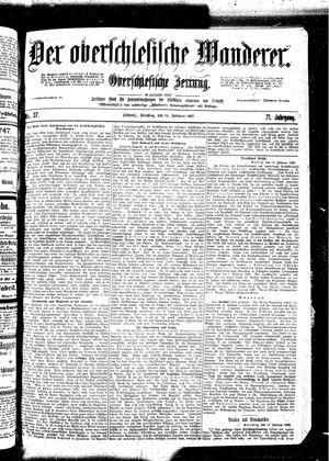 ˜Derœ Oberschlesische Wanderer vom 14.02.1899