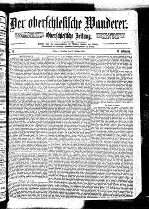 ˜Derœ Oberschlesische Wanderer vom 21.02.1899