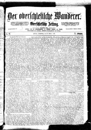 ˜Derœ Oberschlesische Wanderer vom 23.02.1899