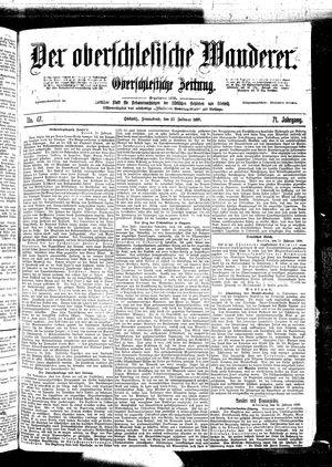 ˜Derœ Oberschlesische Wanderer vom 25.02.1899