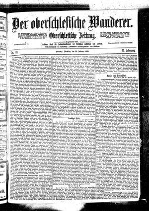 ˜Derœ Oberschlesische Wanderer vom 28.02.1899
