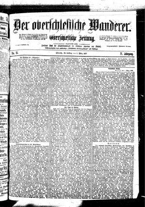 ˜Derœ Oberschlesische Wanderer vom 02.03.1899